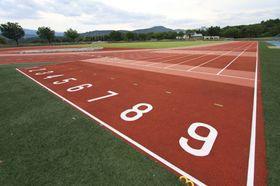 新井総合公園 陸上競技場の「第4種公認申請」に伴う改修工事について(再お知らせ)