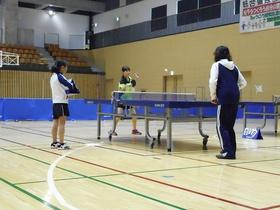 「平成29年度あらい卓球大会」開催