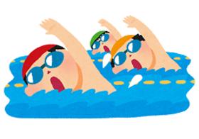 夏のメダカ水泳教室開催!