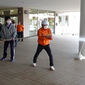 妙高市総合体育館&水夢ランドあらい合同の【消防訓練】を実施‼